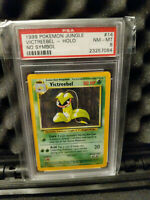 PSA 8 No Symbol Error Victreebell 14 Jungle NM-Mint