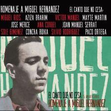 HOMENAJE A MIGUEL HERNANDEZ - VARIOS [CD]