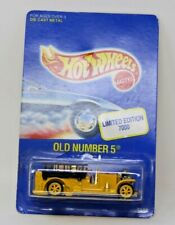 Hot Wheels Old Number 5 Limited Edition Yellow w/yellow wheels Rare