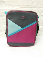 thermos insulated lunch bag Pink/grey