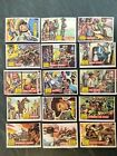 Lot of 17 1956 Topps Round-Up Vintage Trading Cards