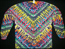 Tie dye dyed t-shirt hippie hippy grateful dead X-Large long sleeve #129