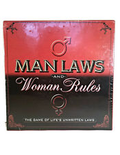 Man laws and Women rules the game of lifes unwritten laws adult game new 221