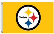NFL Pittsburgh Steelers 3'x5'  Flag -Yellow color