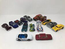 Vintage Mixed Lot of 15 Matchbox Hot Wheels Diecast Cars Trucks 90s-2000s