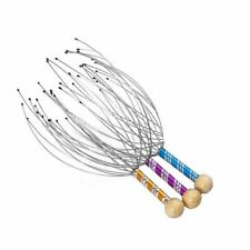 3 Pack Scalp Massager - Therapeutic Head Scratcher for Deep Relaxation