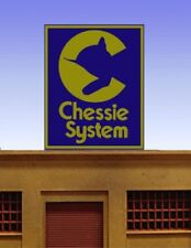 Chessie System Animated Neon Sign Miller Engineering #88-2751