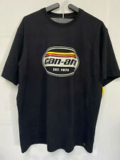 Can Am Authentic Tee Shirt Vintage Crinkle Men's Large NEW