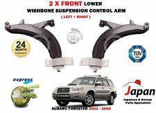 FOR SUBARU FORESTER SG 2002-2008 NEW 2X FRONT LEFT RIGHT SUSPENSION CONTROL ARM