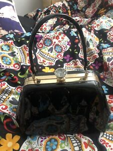 vivien of holloway Black Bag /Rockabilly /VLV Vintage