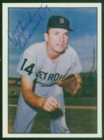 Original Autograph of Dave Wickersham of the Detroit Tigers on a 1978 TCMA Card