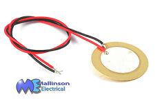 Uncased small piezo transducer element buzzer 26mm