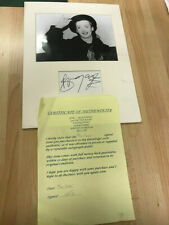 Hand Signed Boy George Photograph Official Autograph Certificate Of Authenticity