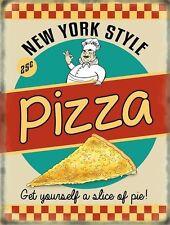 Pizza New York Stile,Anni 50 Cena Da cucina caffè Cibo Rétro,Novità Frigorifero