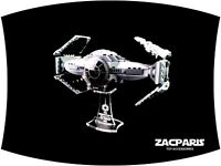 DISPLAY STAND for Star Wars Lego 75082 TIE Advanced Prototype - Very Nice!