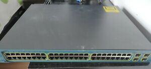 Cisco Catalyst 3560  48 POE puertos Ethernet Gigabit PoE Switch
