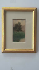 """Listed Canadian Artist - James L. Weston (1865-1922) - W/C - 4""""x7"""" Signed"""