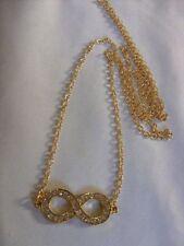 Collares y colgantes de bisutería de aleación cristal color principal oro