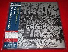 CREAM - WHEELS OF FIRE - Japan Mini LP SACD SHM CD - Out of Print - UIGY-9042