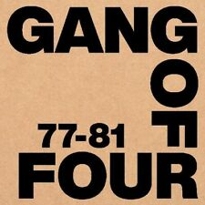 Gang of Four - 77-81 [New Vinyl LP] Oversize Item Spilt, With Book, With Cassett