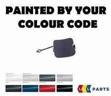 BMW OEM E46 SALOON REAR TOW HOOK EYE COVER PAINTED BY YOUR COLOUR CODE