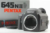 【MINT in BOX】 Pentax 645N II NII Medium Format Film Camera & 120 Film back Japan