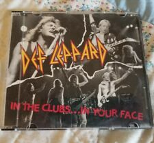 Def Leppard In The Clubs... In Your Face CD 1993