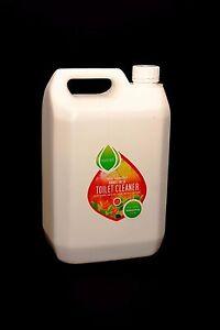 Toilet Cleaner,2 x 5 Litre refill bottles. Essential Oils, Eco friendly,10 Litre
