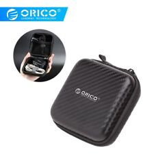 Waterproof Headphone Carry Case Earbud Hard Box Storage Bag fr Memory Card Cable