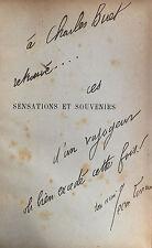 Jean Lorrain Sensations et Souvenirs 1895 Envoi autographe à Charles Buet rare