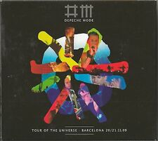 Depeche Mode - Tour Of The Universe  2-cd + dvd