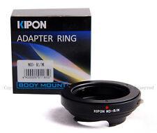 Kipon Adapter for Minolta MD/MC/MF lens to Leica M 240 Ricoh GXR A12 RF uncouple