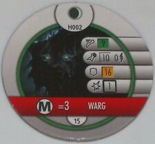 Worg H002 The Hobbit Et Inattendu Voyage Heroclix Horde Token