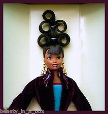 """Plum Royale Runway Series Byron Lars Barbie Doll AA African American VG """""""