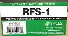 Niles Rsf-1 Voltage Controlled Rf A-B Switching System