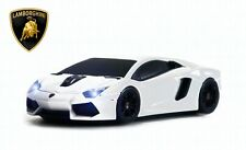 Lamborghini Aventador Wireless Car Mouse White -Licensed - IDEAL MEN'S GIFT