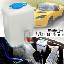 12V Universal Car Windshield Washer Reservoir Pump Bottle Kit Set Jet Switch US