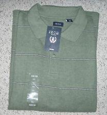 New~NWT~Men's IZOD Short Sleeve Golf  Polo Shirt~Lt Green Heather~Size XXL 2XL