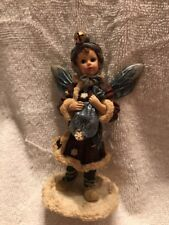 "Boyd's Bear Wee Folkstone Faeries ""Kristabell Frost Faerie"" In Org Box No COA"
