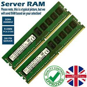8GB 32GB Memory RAM 4 Servers PC4-21300R DDR4 2666MHz 288 ECC Registered Lot