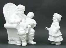 Department 56 Silhouette A Visit With Santa Set of 2