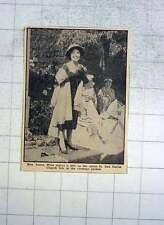 1959 Miss Anona Winn Makes A Joke Opening St Just Parish Church Fete