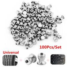 100Pcs Car Tyre Studs Screw Spikes Winter Tires Snow Chains Stud Screws 8mmx11mm