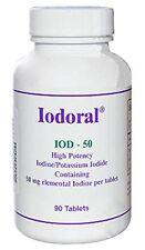 Optimox  IODORAL IOD 50 Iodine Potassium Iodide 50mg 90 Tablets