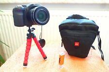 Lumix FZ200 l 25x600mm l WIE NEU l EXTRAS  Digital Bridge Kamera 24x FullHDWide