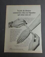 PUB PUBLICITE ANCIENNE ADVERT CLIPPING 060817 / MONTRE ROLEX UNE ETAPE DANS L'HI