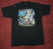 1990 FOR WORTH TEXAS MADE IN USA HARLEY DAVIDSON T-SHIRT XL BROTHERS IN THE WIND