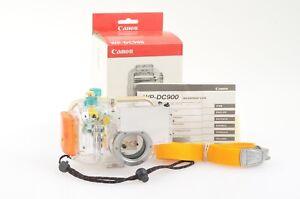 GENUINE BOXED CANON UNDERWATER HOUSING WP-DC900 FOR CANON POWERSHOT A80, CLEAN
