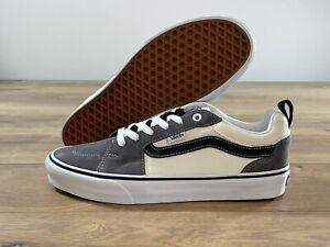 Vans MN Filmore Skateboarding Shoes Pewter/White/Black MN SZ 9 ( VN0A5EDU3DE )