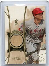 2014 TOPPS TIER ONE #TOR-MT MARK TRUMBO BAT CARD #277/399, ANAHEIM ANGELS